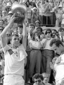 Ivan Lendl's 1984 French Open Final win against John McEnroe went down in history but would never have been if they were playing 3 sets like the women.