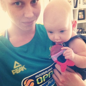 Abby and Baby Zala
