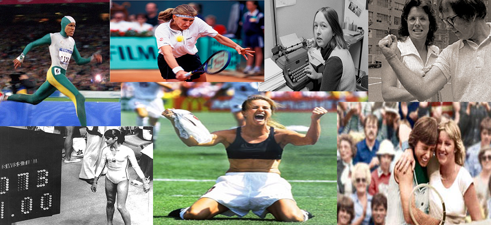 Sportette gives you the top ten moments that redefined Women in Sport - share your list with us on email, twitter or facebook