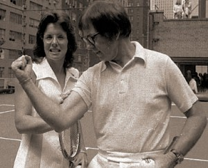 Billie Jean King v Bobby Riggs in the Battle of the Sexes