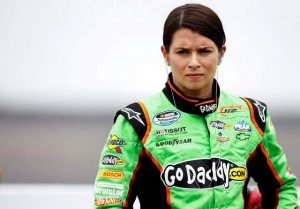 Danica Patrick has made history on the track