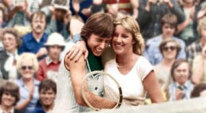Foes on the court friends off it. Chris Evert and Martina Navratilova's rivalry captivated the tennis world.