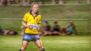 26 year old Belinda Sleeman refs Holden Cup and FOGS matches but one day hopes to ref in the NRL