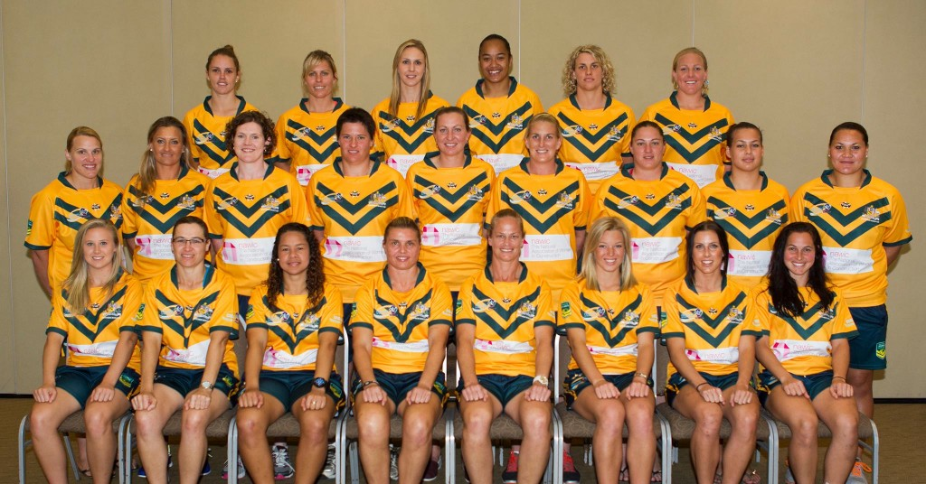 The Jillaroos World Cup winning side.
