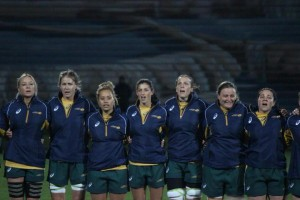Chloe made her Wallaroos debut at June's Tri-Nations in New Zealand.