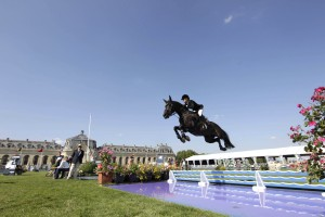 Edwina at the Longines Global Champions Tour of Chantilly 2013. Photo: Stefano Grasso/GCT