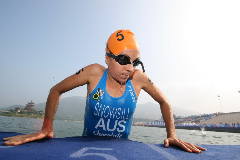 Emma competing at   2007 ITU Beijing. Photo courtesy: ITU | Frank Wechsel