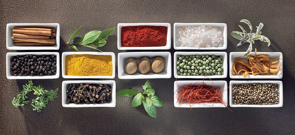 Spice up your life - what spices to use, why and how to use them.