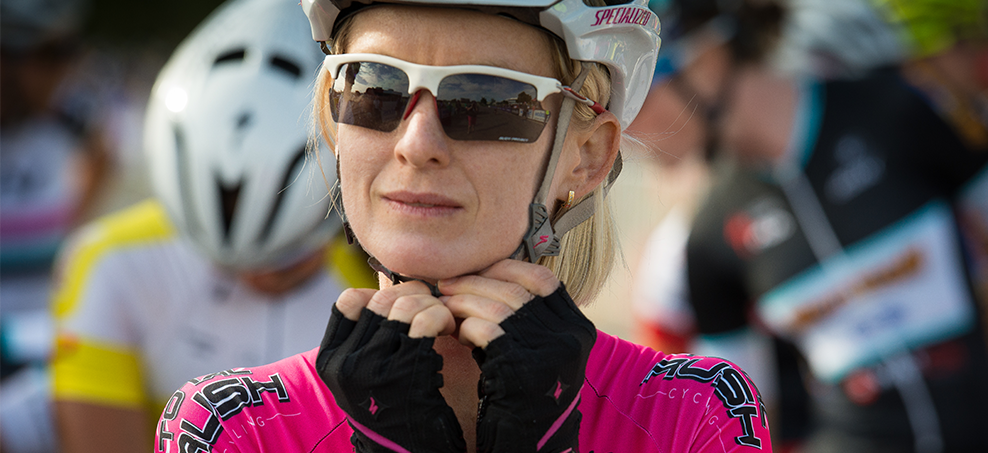 Ruth Corset is the National Road Series Champion but it's motherhood that's provided the ride of her life. She tells how she balances family, life & bikes. Photo: Kirsty Baxter Photography
