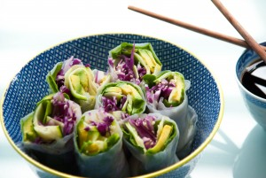 rice paper rolls for sportette