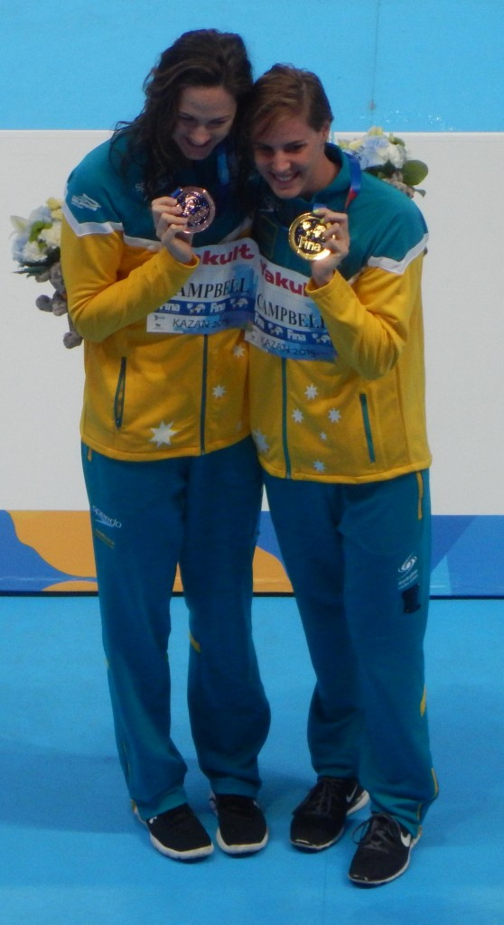 Kazan_2015_-_Victory_Ceremony_Campbell_sisters_100m_freestyle