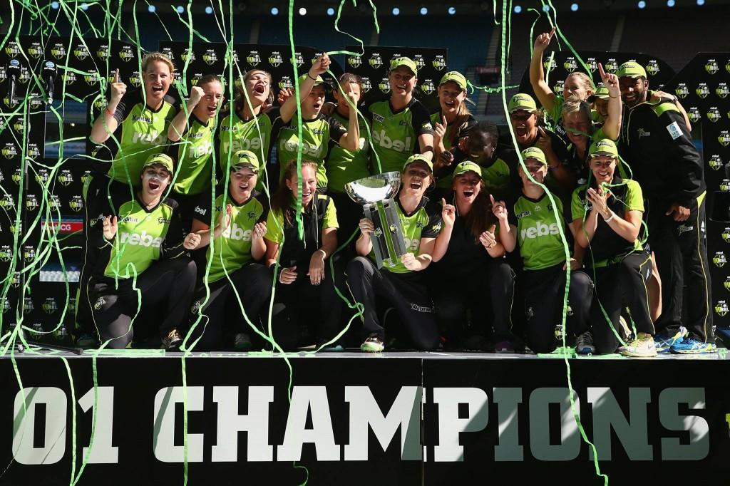 WBBL01 Champions Sydney Thunder