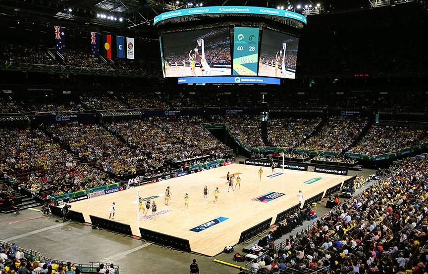 Get ready for Netball's Fast5...hint, they don't call it fast for nothing...these games are fast!