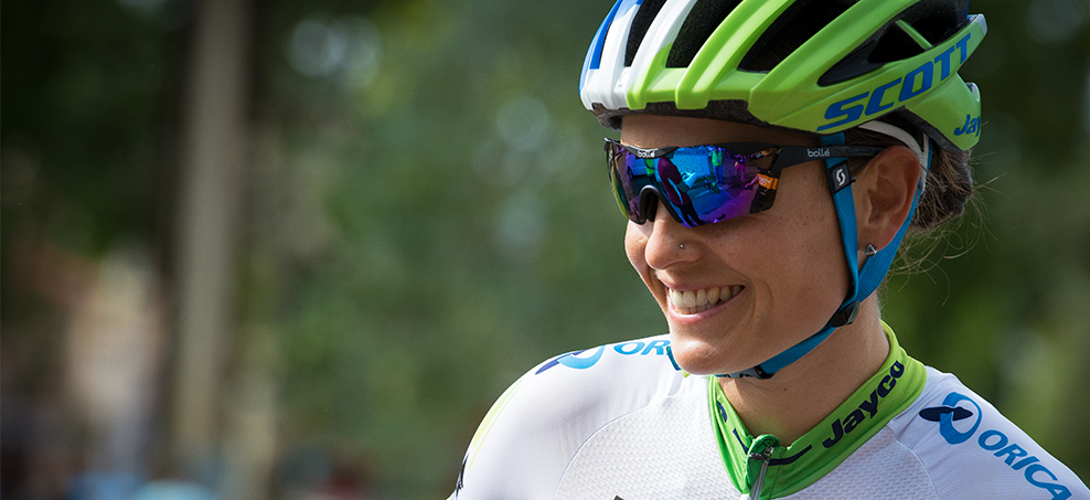 Lizzie Williams competing for Orica-AIS PHOTO: Kirsty Baxter Photography