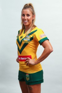 The Jillaroos have their individual photo taken on the 2nd of May 2016 as part of the preparation for the Test Match between the Australian Jillaroos and The New Zealand Ferns.