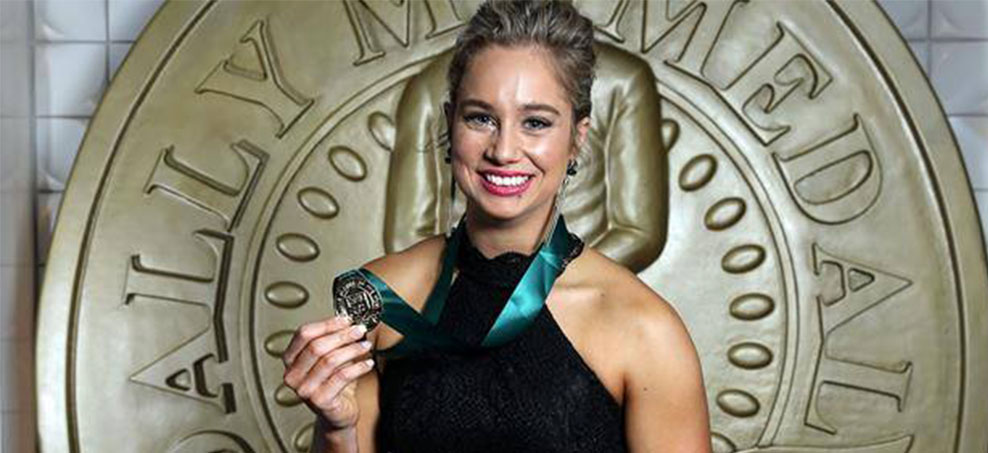 Kezie Apps was the 2016 Dally M winner