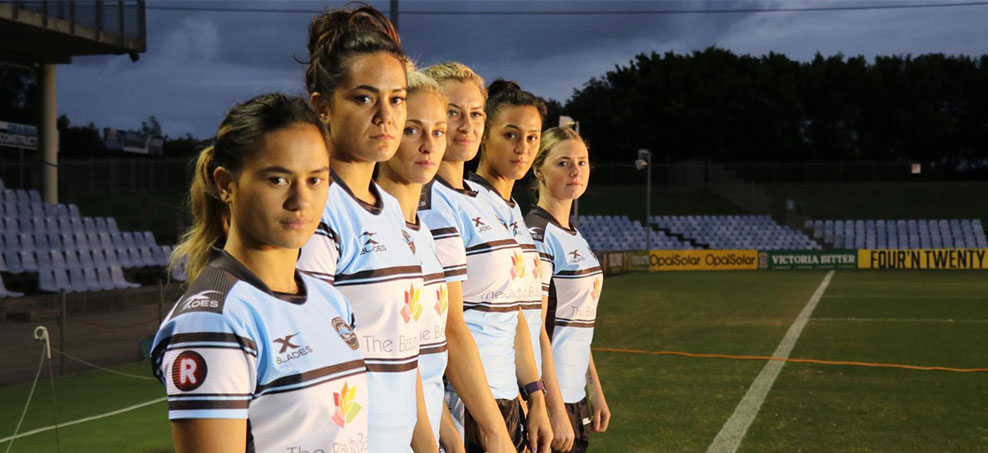 Cronulla Sharks have already started contracting female players PHOTO: Cronulla Sharks